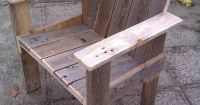 Little Child Pallet Chair  Pallet Ideas | Child chair and ...