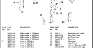 Dometic RV Awning Parts Diagram | Camping, R V wiring, Outdoors | Pinterest | Motorhome, Rv and