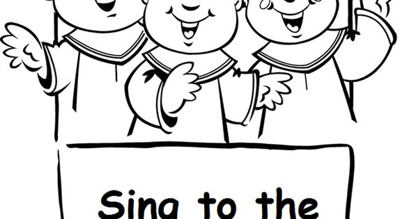 Eph. 5:19-20 coloring page http://www.sermons4kids.com
