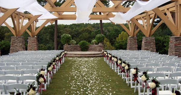 Pavilion Wedding Decorations