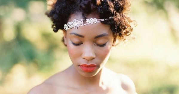 Black Natural Hair Wedding Styles ManeMonday Check Out
