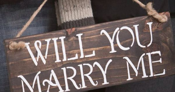 chairs wedding decoration big joe roma chair multiple colors will you marry me reclaimed wood sign by stylebythesea on etsy, $25.00 | stuffs ...