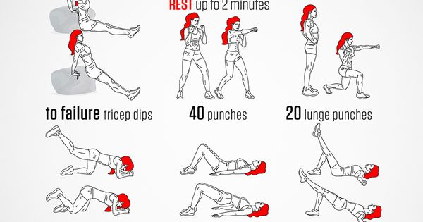 Instructions: Repeat each move with no rest in between