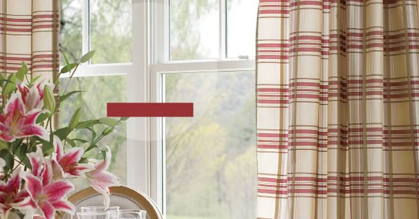 Country Curtains Catalog Greenwich Plaid Panels Lookbook My Portfolio Pinterest