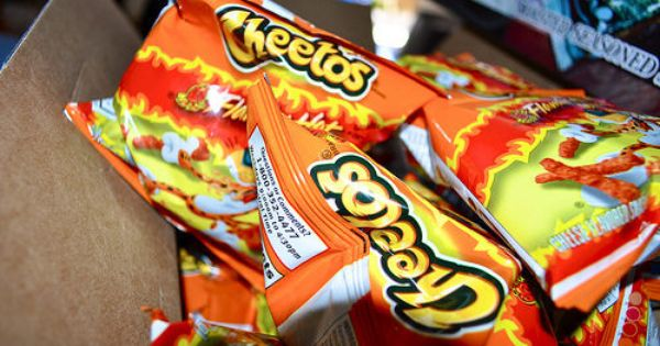 My worst addiction...flamin' hot cheetos   Food ...