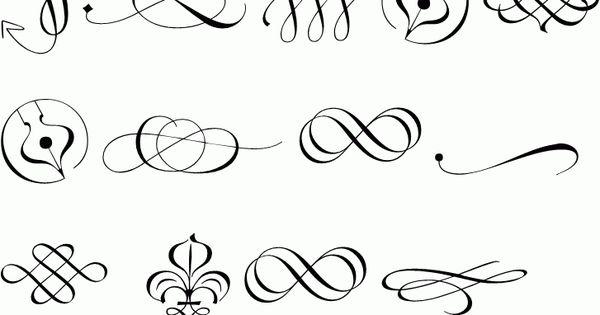 Elegant Ornamental Intricate Designs Borders Frames
