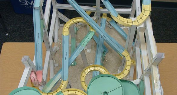 7 Paper Roller Coaster Templates Free Word PDF Documents Download Free Amp Premium