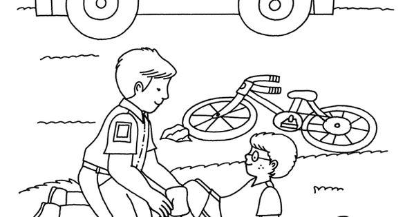 Neighborhood Helpers Coloring Book Dover Publications