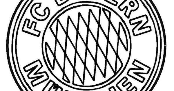 ausmalbild Bayern Munchen  Schrumpffolie  Pinterest