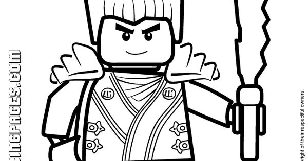 Free W Ninja Go Coloring Pages