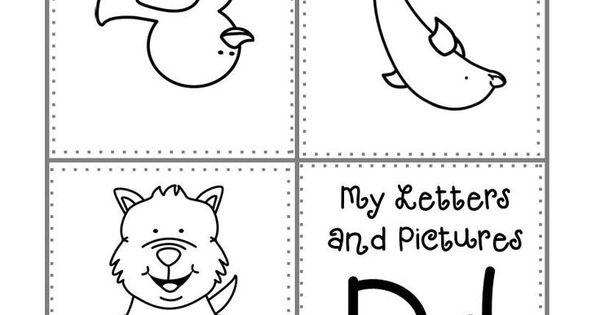 FREEBIE. K-1 and Homeschool. Alphabet mini book. A-Z