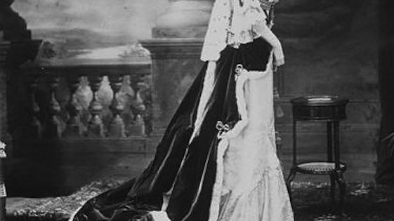 The Duchess Of Marlborough (Consuelo Vanderbilt) In Her