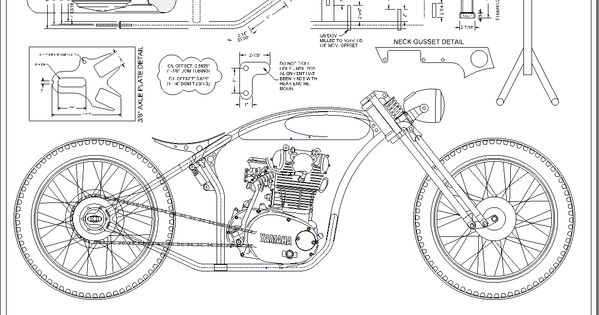 Voodoo Vintage: the XS650 LONE WOLF frame is in production