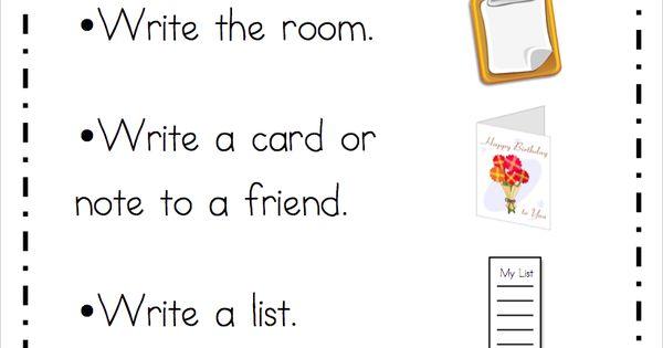 Mrs. Ricca's Kindergarten: Literacy Center