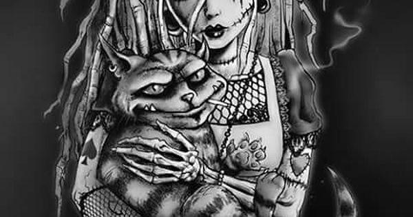 Dark Alice in wonderland Twisted Pinterest Alice