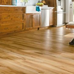 Kitchen Vinyl Floor Tiles Cream Color Cabinets Armstrong Luxury Plank Flooring   Lvp Natural Wood ...