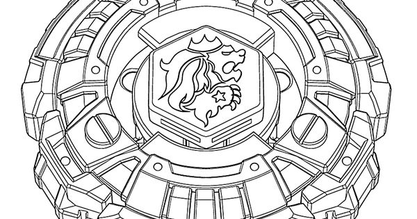 Beyblade anime coloring pages for kids, printable free