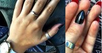 Stiletto nails with red bottom finish | fashion ...