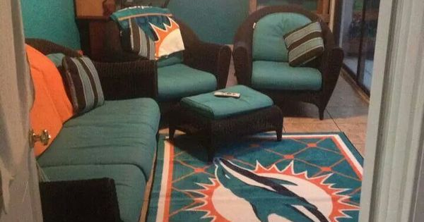 Very own man cave  NFL Miami Dolphins  Pinterest  The o
