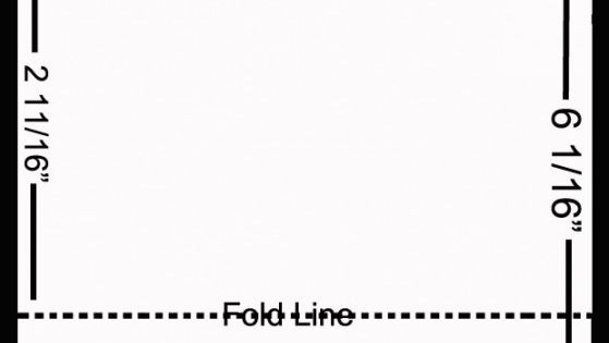 Template for printing custom Hershey Bar labels on the