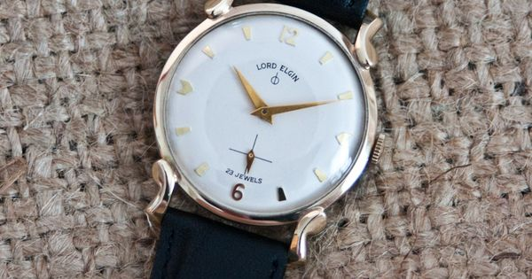Excellent 23 Jewel Lord Elgin Wrist Watch From The Mid