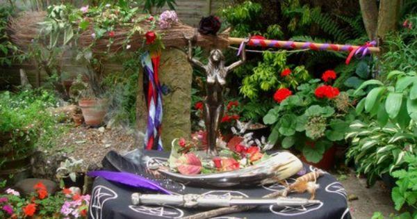 Pagan Wedding Altar