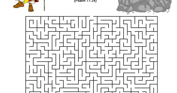A maze activity for kids from the story, Path To Freedom