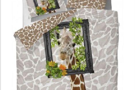 Covers en Co Dekbedovertrek Im so pretty giraf wit en