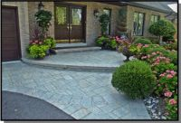 front door landscaping ideas | Interlocking driveways can ...