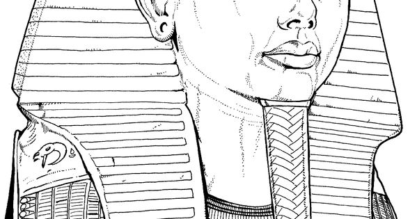 King Tut S Tomb Page Coloring Pages