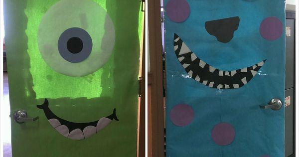 Monsters Inc... classroom doors