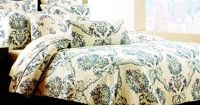 Tahari Home Cotton 3 Piece Full/Queen Quilt Set Reversible ...