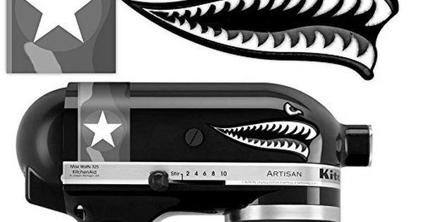 KitchenAid FlyingTigerShark UrbanCamouflage Vinyl