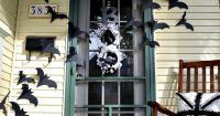 Bat door decoration | Halloween ideas | Pinterest | Doors ...