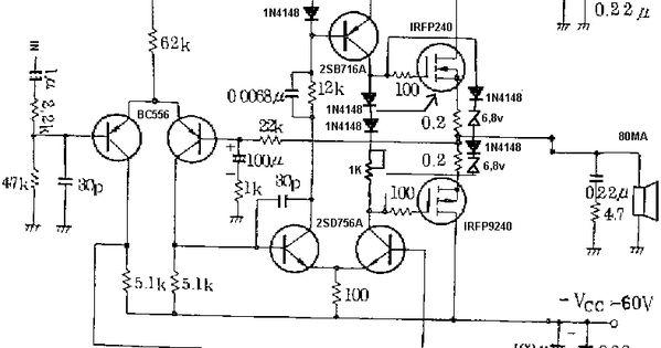 100 watt subwoofer for home circuit diagram ~ Audio