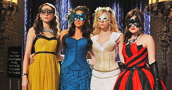 Pretty Little Liars Masquerade Ball Dresses
