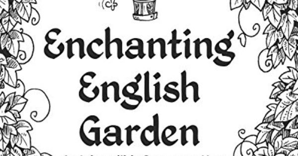 Enchanting English Garden: An Inkcredible Scavenger Hunt