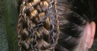Renaissance Braid Hairstyles for Peasants | French Braids ...