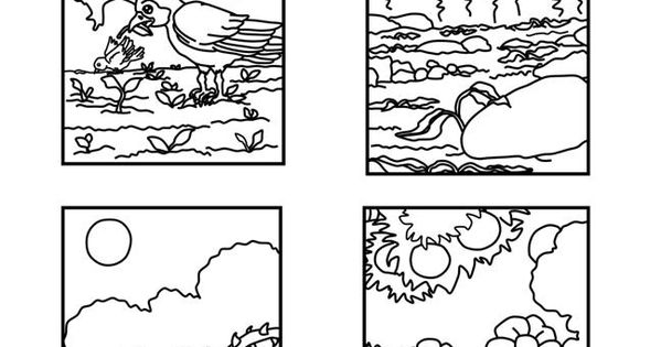 Parable Of The Sower (Coloring Pages) Coloring pages are a