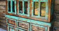 San Antonio Rustic Hutch - Sofia's Rustic Furniture - a ...