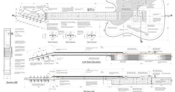 Hollowbody Electric Guitar Plans #1: Electronic Version