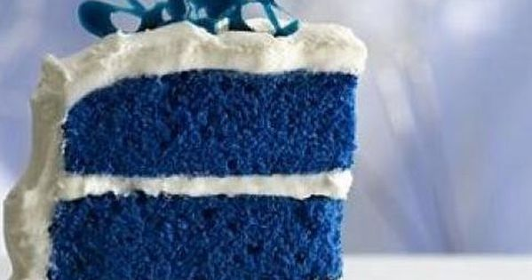 Blue Velvet Cake  Recipe  Blue velvet cakes Blue velvet and Paula deen