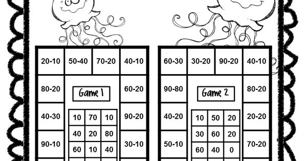 End of Year Math Games First Grade: End of the Year