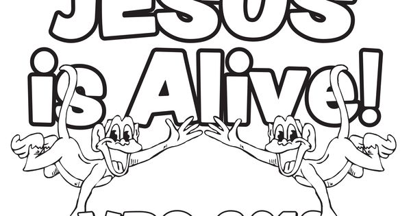 Free Jungle VBS 2013 coloring sheet from Guildcraft Arts