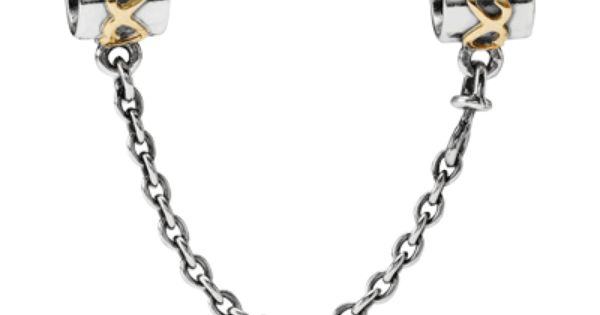 Charms: Pandora has Sterling Silver, 14k Gold, and Two