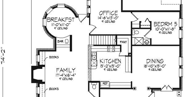 Old-Fashioned Farmhouse Floor Plans
