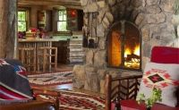 Fireplace Cabin, Jackson, Wyoming
