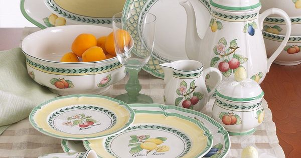 Villeroy  Boch Dinnerware French Garden Dinnerware