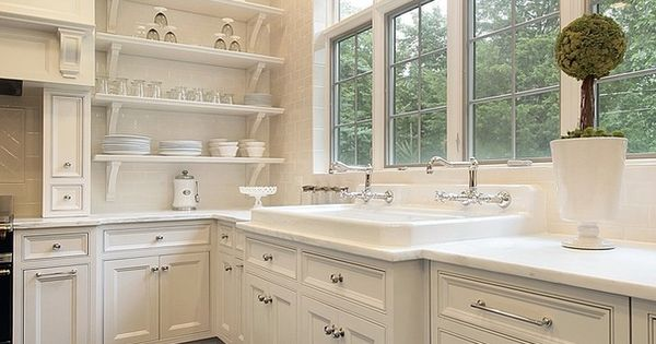 rohl kitchen sinks white wall cabinets small l-shaped layout with window over sink - bing ...