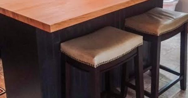 DIY kitchen island with bar seating from an old dresser  DIY  Pinterest  Bar Islands and